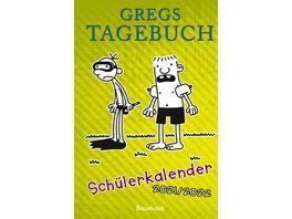 Gregs Tagebuch Schuelerkalender 2021 2022