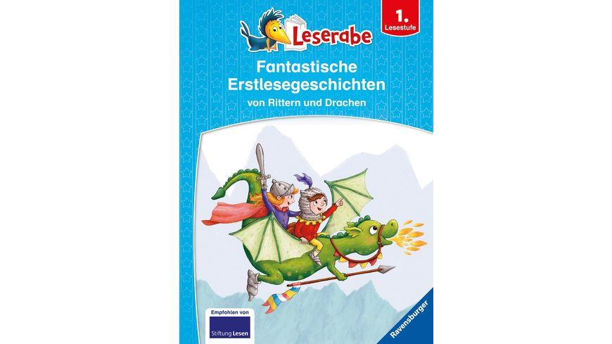 Leserabe - Sonderausgaben: Fantastische Erstlesegeschichten von Rittern und Drachen -  Kinderbuch