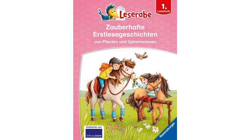 Leserabe - Sonderausgaben: Zauberhafte Erstlesegeschichten von Pferden und Geheimnissen -  Kinderbuch