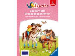 Leserabe Sonderausgaben Zauberhafte Erstlesegeschichten von Pferden und Geheimnissen Kinderbuch