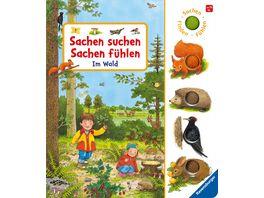 Sachen suchen Sachen fuehlen Im Wald Kinderbuch