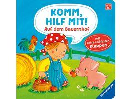 Komm hilf mit Auf dem Bauernhof Kinderbuch