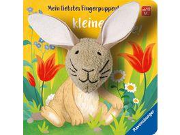 Mein liebstes Fingerpuppenbuch Hallo kleiner Hase Kinderbuch