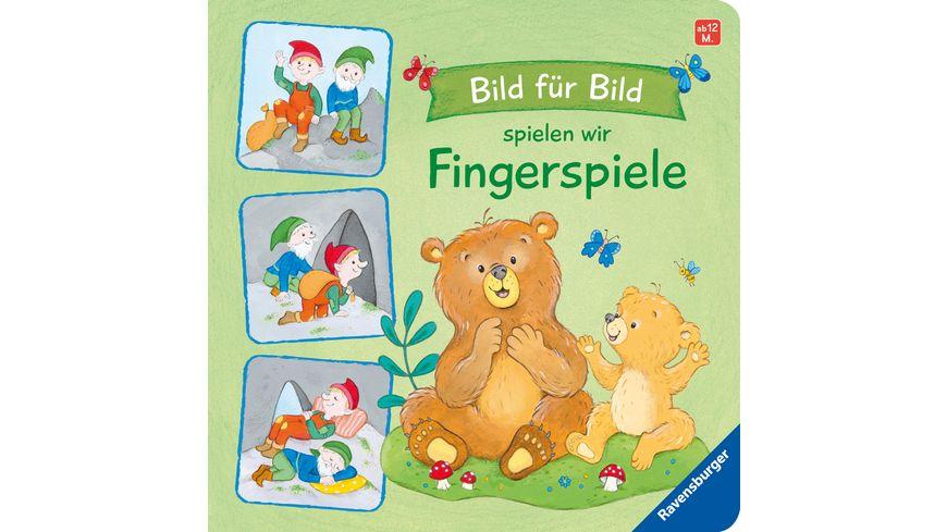 Bild für Bild spielen wir Fingerspiele -  Kinderbuch