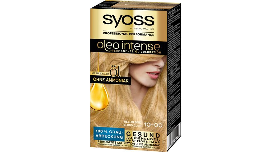 SYOSS OLEO Intense 10-0 Hellblond Stufe 3