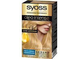 SYOSS OLEO Intense 10 0 Hellblond Stufe 3