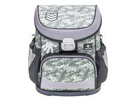 JOLLY Belmil MINI FIT Camouflage Grey 60 teiliges Schultaschen Set