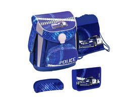 JOLLY Belmil CUBE Police Investigation 60 teiliges Schultaschen Set