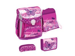 JOLLY Belmil CUBE Happy Butterfly 60 teiliges Schultaschen Set