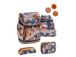JOLLY Belmil SMARTY Wild World 60 teiliges Schultaschen Set