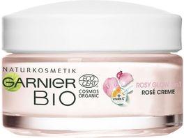GARNIER BIO Rosy Glow 3in1 Rose Creme