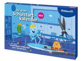 Pelikan Schulstart Kalender mit Tuerchen