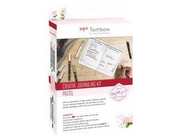 TOMBOW Creative Journaling Set mit Notizbuch A5 Pastel rose