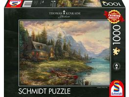 Schmidt Spiele Erwachsenenpuzzle Ausflug am Vatertag 1000 Teile