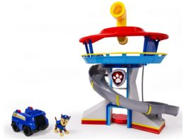 Spin Master Paw Patrol Lookout Hauptquartier Spielset mit Chase
