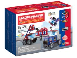 Magformers 278 58 Amazing Police Rescue Set Baukasten