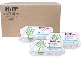 HiPP Babysanft Feuchttuecher NATURAL Aqua Vorratsbox
