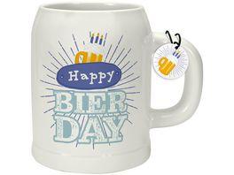 GRUSS CO Bierkrug Happy Bierday