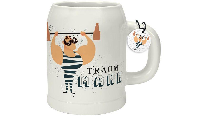 GRUSS & CO Bierkrug »Traummann«