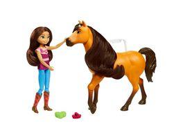 Spirit Kuschelspass Set mit Lucky Puppe Spirit Pferd ab 3Jahren