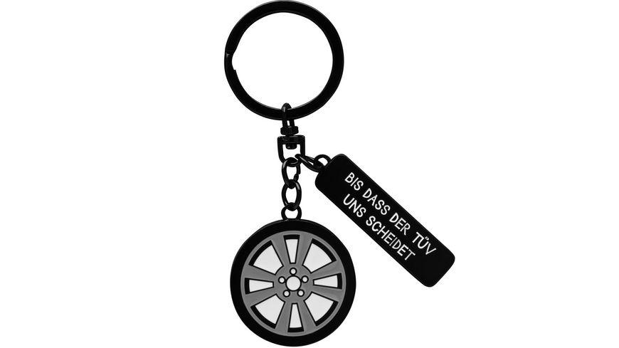 GRUSS & CO Schlüsselanhänger »Bis dass der TÜV uns scheidet«