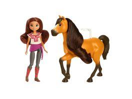 Spirit Puppe Lucky ca 18cm Pferd Spirit ca 20cm ab 3Jahren