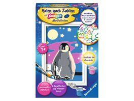Ravensburger Beschaeftigung Malen nach Zahlen 28775 Kleiner Pinguin Kinder ab 7 Jahren