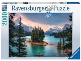 Ravensburger Puzzle Spirit Island Canada 2000 Teile