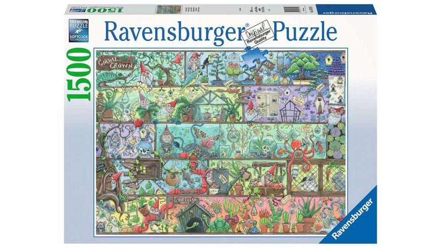 Ravensburger Puzzle - Zwerge im Regal - 1500 Teile