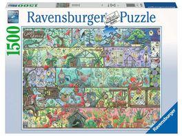 Ravensburger Puzzle Zwerge im Regal 1500 Teile