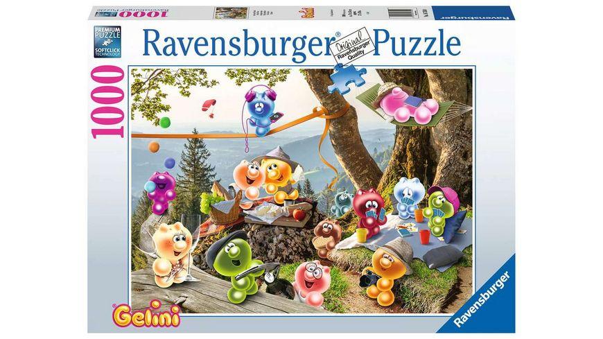 Ravensburger Puzzle - Auf zum Picknick - 1000 Teile