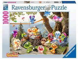Ravensburger Puzzle Auf zum Picknick 1000 Teile