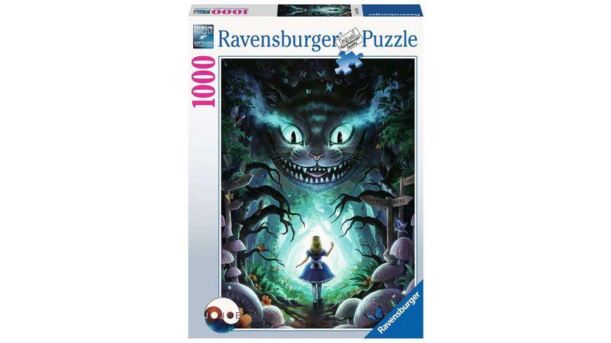 Ravensburger Puzzle - Abenteuer mit Alice 1000p - 1000 Teile
