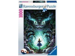 Ravensburger Puzzle Abenteuer mit Alice 1000p 1000 Teile