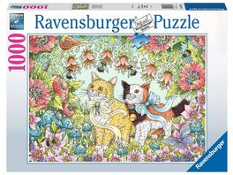 Ravensburger Puzzle Kaetzchenfreundschaft 1000 Teile