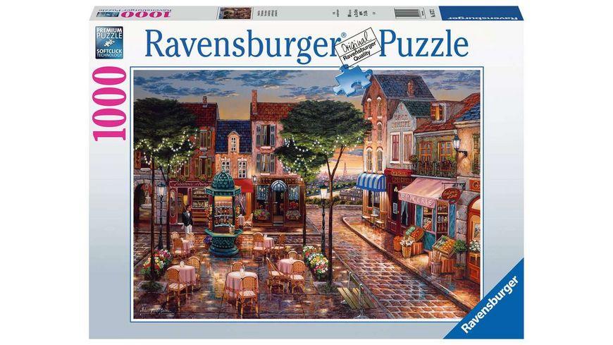 Ravensburger Puzzle - Gemaltes Paris - 1000 Teile