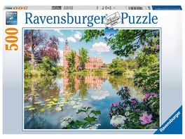 Ravensburger Puzzle Maerchenhaftes Schloss Muskau 500 Teile