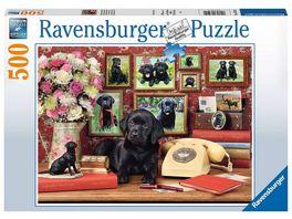 Ravensburger Puzzle Meine treuen Freunde 500 Teile