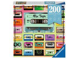 Ravensburger Puzzle Puzzle Moment 12962 Mix Tape 200 Teile Puzzle fuer Erwachsene und Kinder ab 14 Jahren