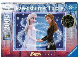 Ravensburger Puzzle Bezaubernde Schwestern Kinderpuzzle 200 XXL Teile