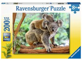 Ravensburger Puzzle Koalafamilie 200 Teile XXL Kinderpuzzle Puzzle fuer Kinder ab 8 Jahren