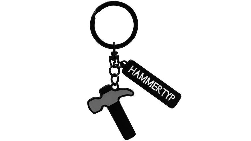 GRUSS & CO Schlüsselanhänger »Hammertyp«