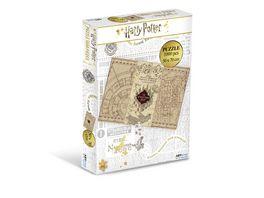HARRY POTTER Karte des Rumtreibers Puzzle 1000 Teile 50 x 70 cm
