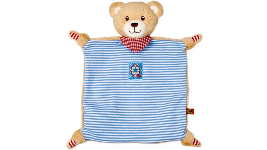 Die Spiegelburg - Schnuffeltuch Teddy BabyGlück, blau