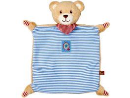 Die Spiegelburg Schnuffeltuch Teddy BabyGlueck blau