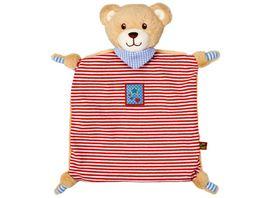 Die Spiegelburg Schnuffeltuch Teddy BabyGlueck rot