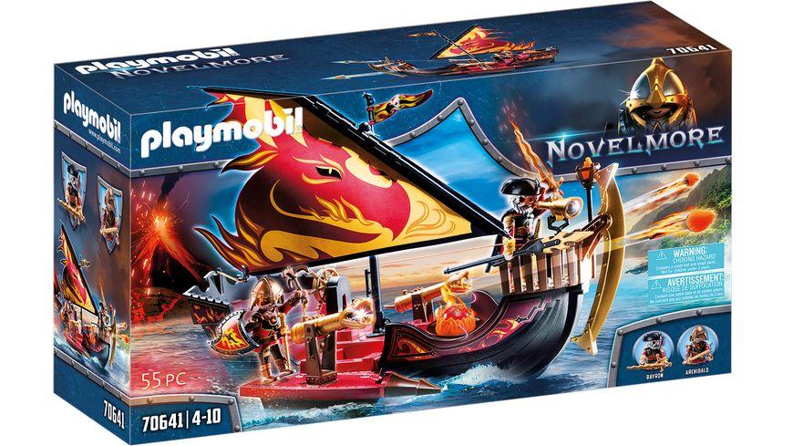 PLAYMOBIL 70641 - Novelmore - Burnham Raiders Feuerschiff