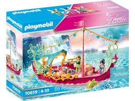PLAYMOBIL 70659 Fairies Romantisches Feenboot