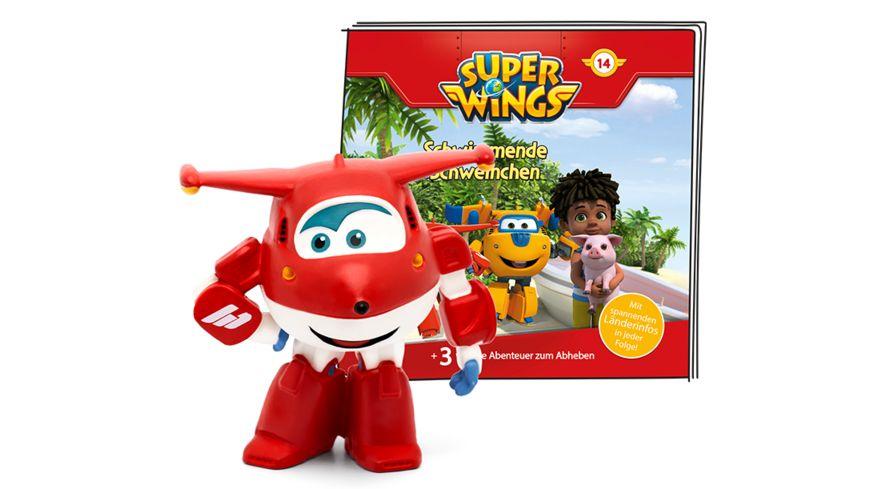tonies - Hörfigur für die Toniebox: Super Wings: Schwimmende Schweinchen