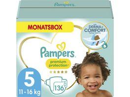 Pampers Windeln Premium Protection Groesse 5 Junior 11 16kg Monatsbox